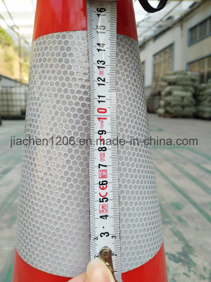 Heavier Black Base Excellent PVC 900mm Traffic Cone pictures & photos