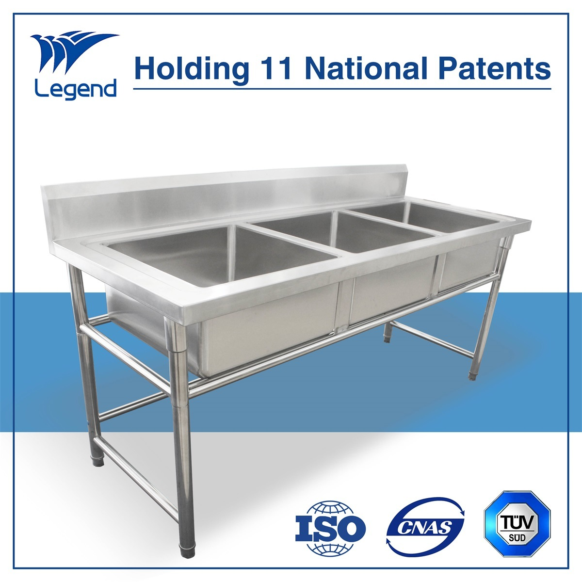 China Top Rated Industrial Stainless Steel Sinks with Cheap Price ...
