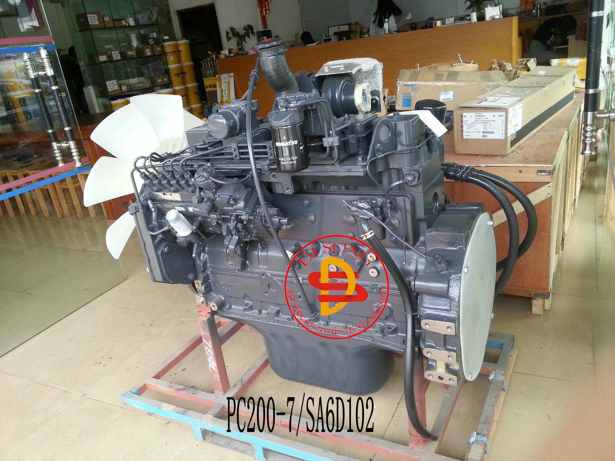 [Hot Item] Komatsu PC200-7 Engine Ass′y 6738-Co-Db15