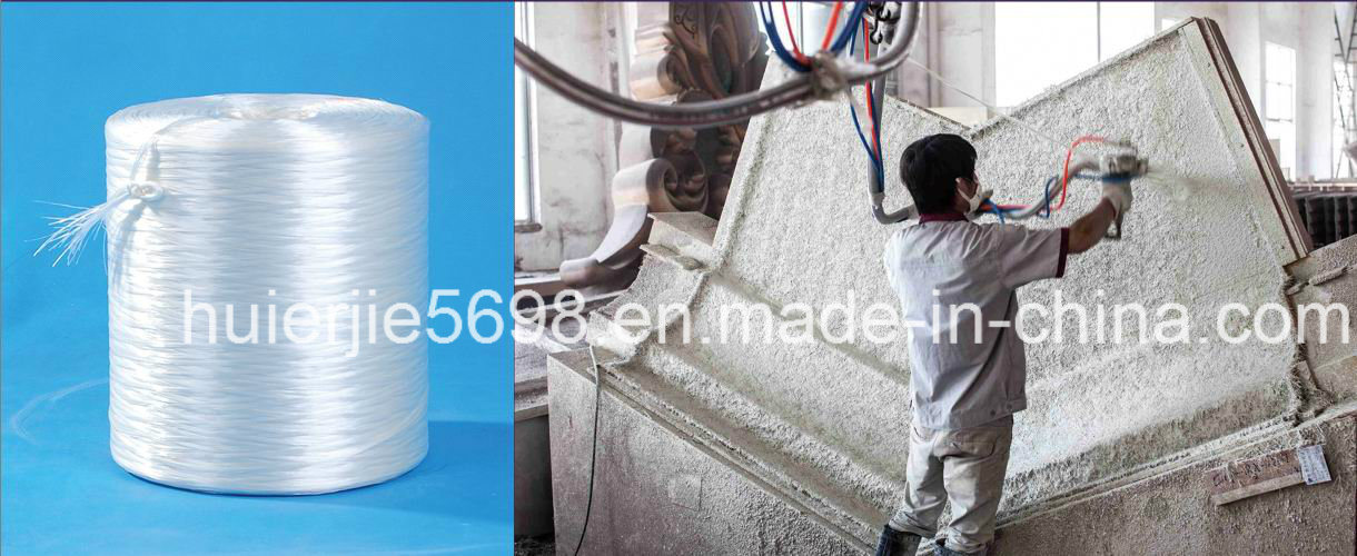 Ar Glassfibre Spray Roving Zro2 16.5% for Grc pictures & photos