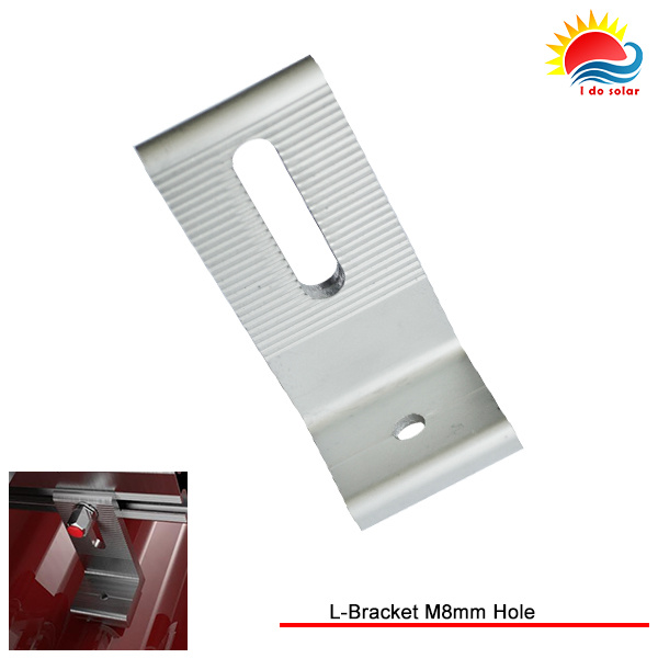 New Design Solar Panel Mounting L-Bracket M8mm Hole (MD304-0002) pictures & photos