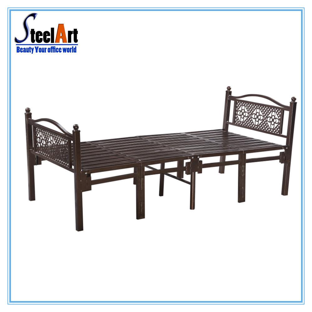 - China Bedroom Furniture Child Metal Single Folding Bed - China