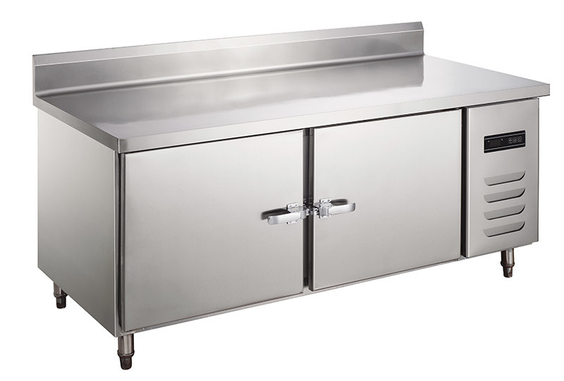 China Commercial Used Kitchen Equipment Backrest Work Table Chiller China Refrigerator And Freezer Price