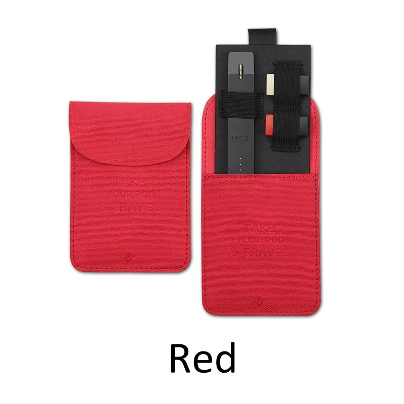 [Hot Item] Myle Juul Pod System Leather Pouch