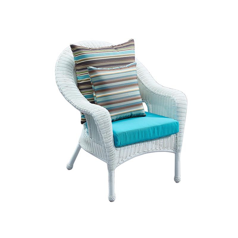 Superb Hot Item Uv Resistant Garden White Rattan Dining Chair Ncnpc Chair Design For Home Ncnpcorg