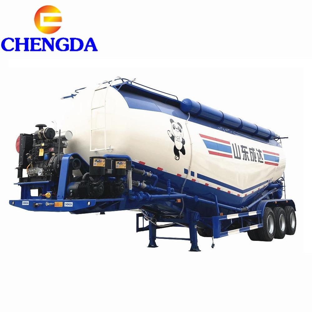 [Hot Item] New Design 3axles 40ton Diesel Bulker Cement Trailer Vehicle  Sales