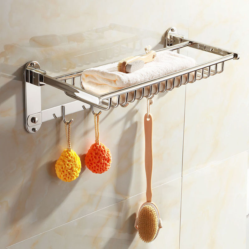 China Stainless Steel Bathroom Accessory Wall Mounted Towel ...