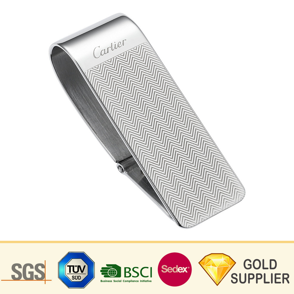 Personalized Engraving Included Money Clip Wallet Dermatology