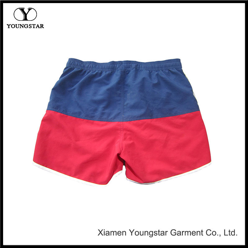 Womens Beach Shorts Red White and Blue Boardshorts Swim Trunks