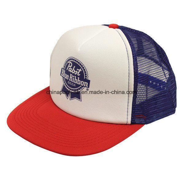 2a7cc9a23 [Hot Item] Retro Pbr Trucker Hat Pabst Blue Ribbon Beer Cap Snapback Mesh  Baseball Funny (CPA_31083)