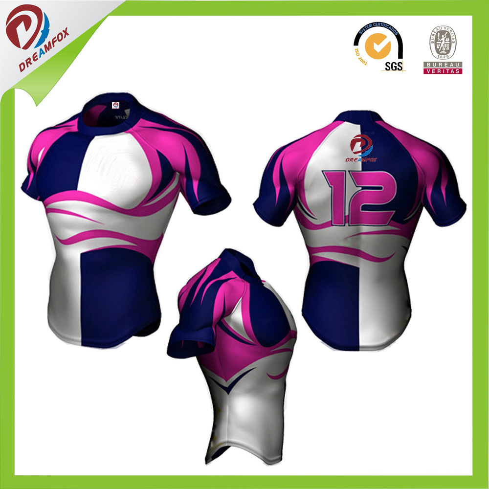 Latest Custom Sublimation for Team Rugby Kits Designs pictures & photos