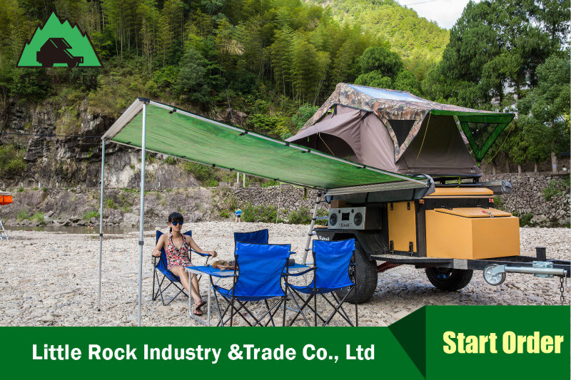 2017 New Style Canvas Car Awning Vehicle Side Awning Car Tents for Picnic pictures & photos