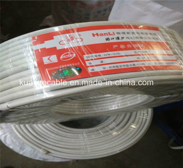 Coaxial Cable RG6 75ohm Trunk Cable Qr500-W pictures & photos