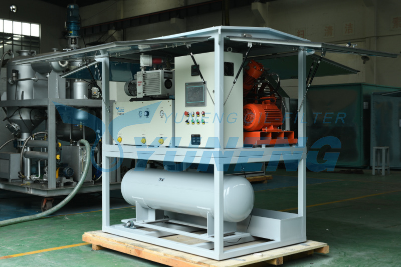 One Cubic Meter Content Sf6 Gas Evacuation and Refilling Machine