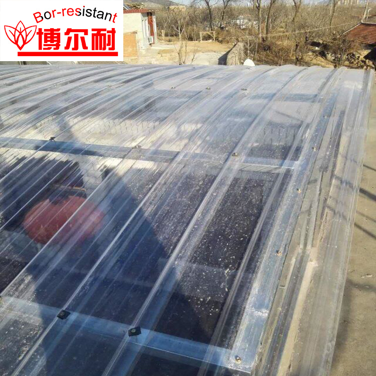 [Hot Item] Light Transmission Corrugated Fiberglass Sheet Skylight Roof  Panels
