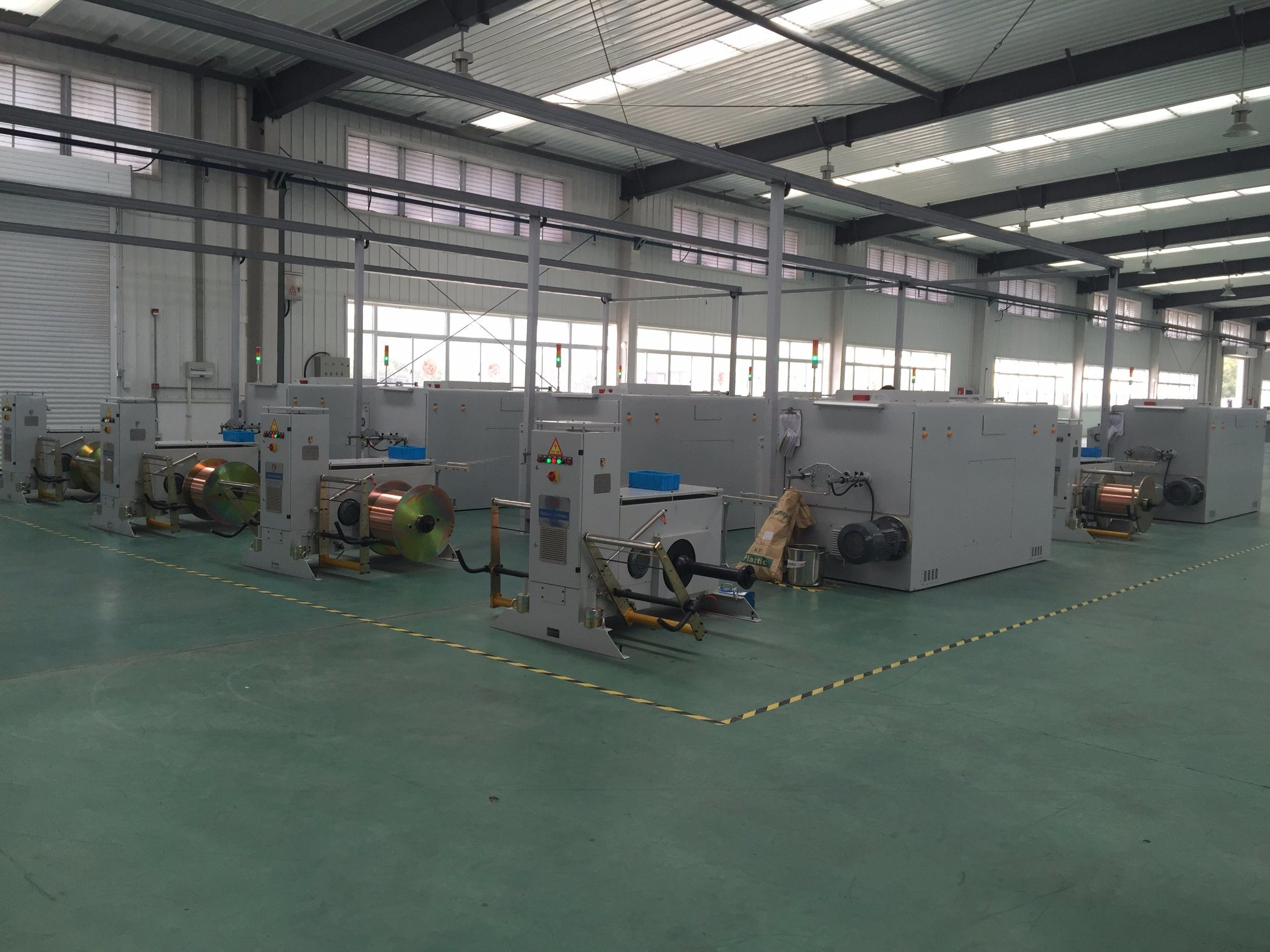 China Bare Copper Wire Twister, Core Wire Twister - China High Speed ...