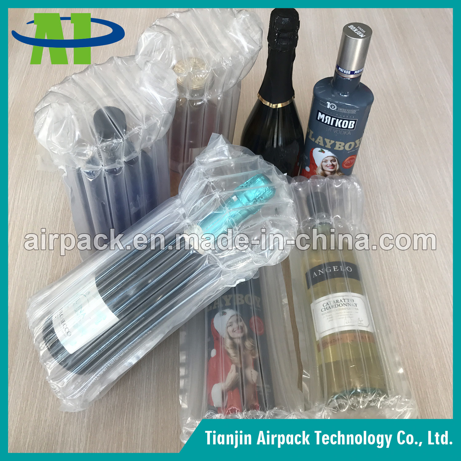 Air Column Wine Bottle Air Bag