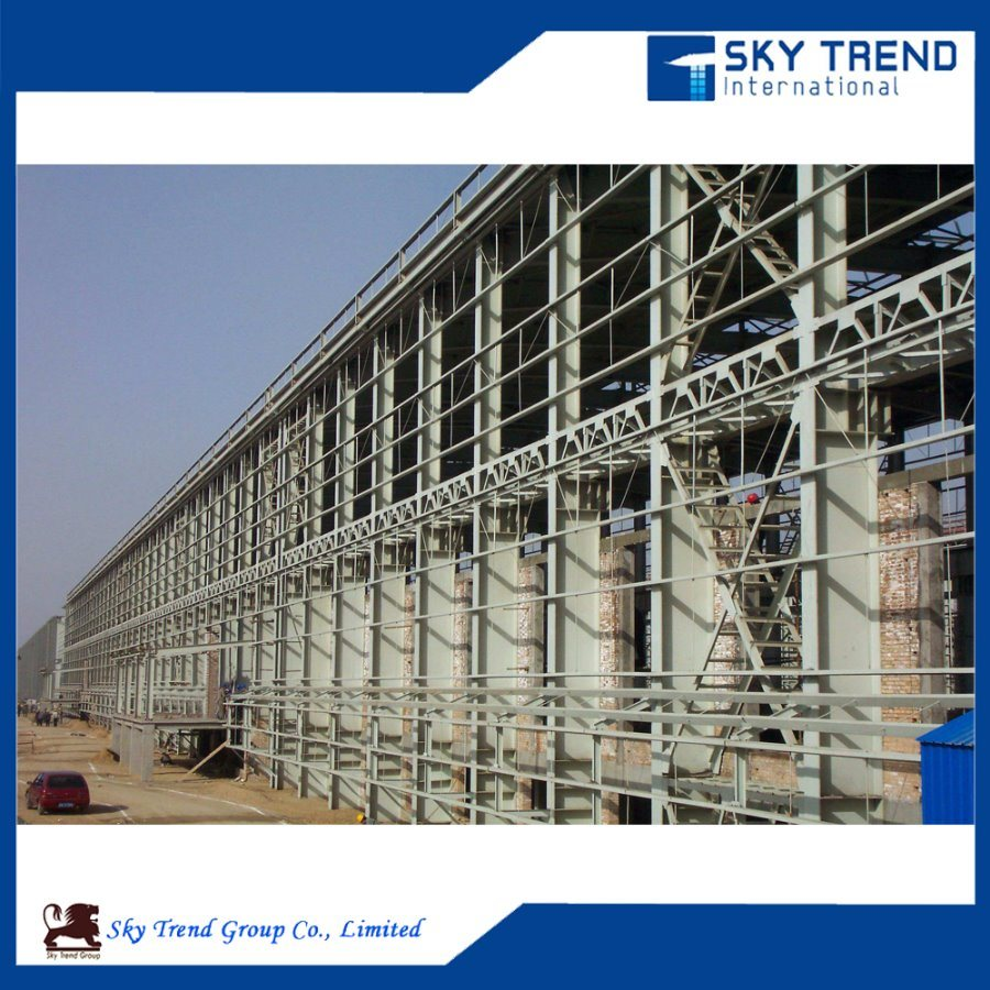 Customized Prefabricated Steel Frame Construction Workshop