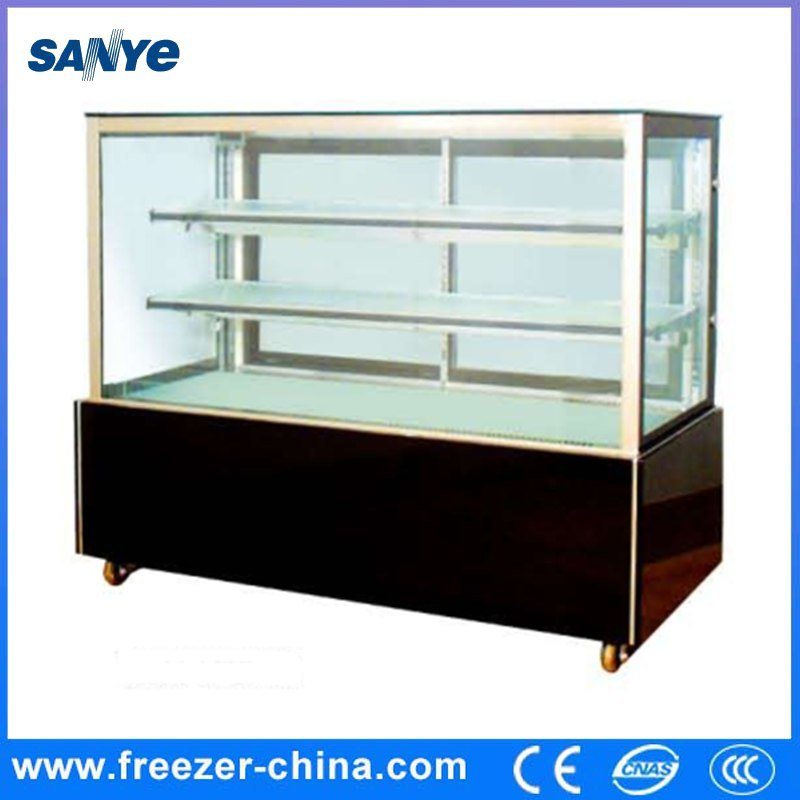 Right Angle Ventilated Cake Display Cooler