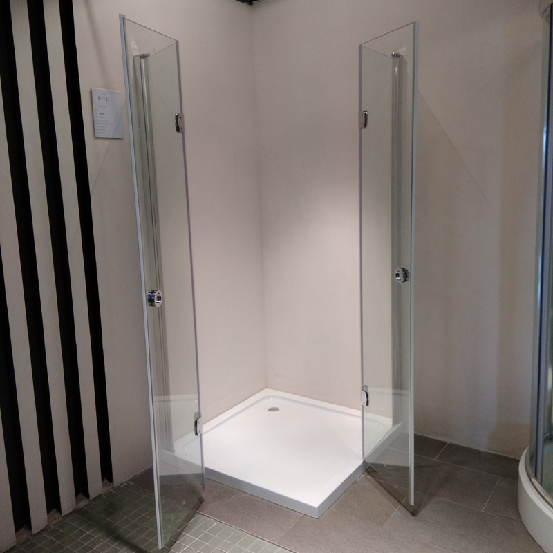 China Frameless Shower Cubicle with 6mm Tempered Glass (K-741 ...