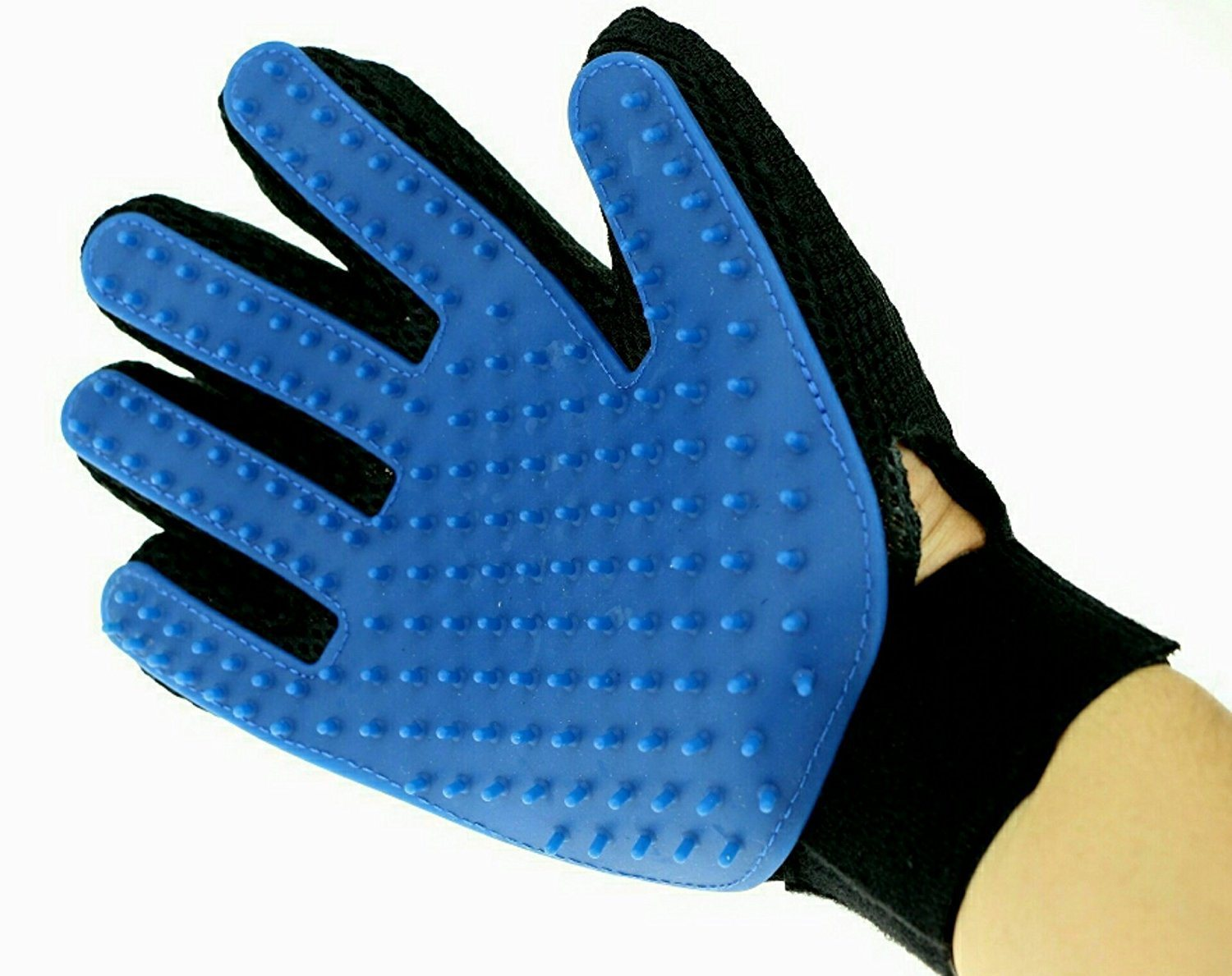 True Touch Deshedding Glove for Gentle Efficient Pet Dog Cat Grooming Glove Brush Mitt Shedding Glove Tool Pet Hair Remover Pet Massage Glove Bathing Brush COM pictures & photos