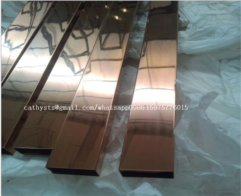 Home Decor Protection Metal Stainless Steel Tile Trim Mirror or Hairline Surface pictures & photos