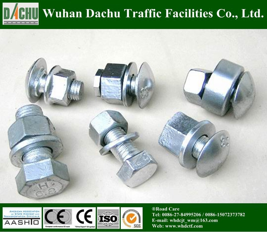 Carbon Steel Mushroom Head Guardrail Bolt and Nut pictures & photos