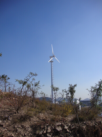 Ah-20kw Pitch Controlled Wind Generator on Grid System Solution Plan
