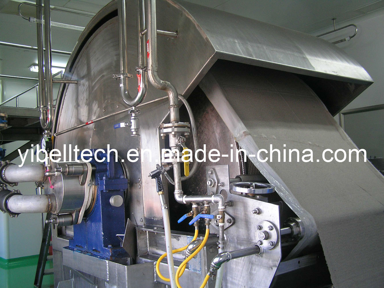 Full Automatic Vacuum Rotary Drum Belt Filter