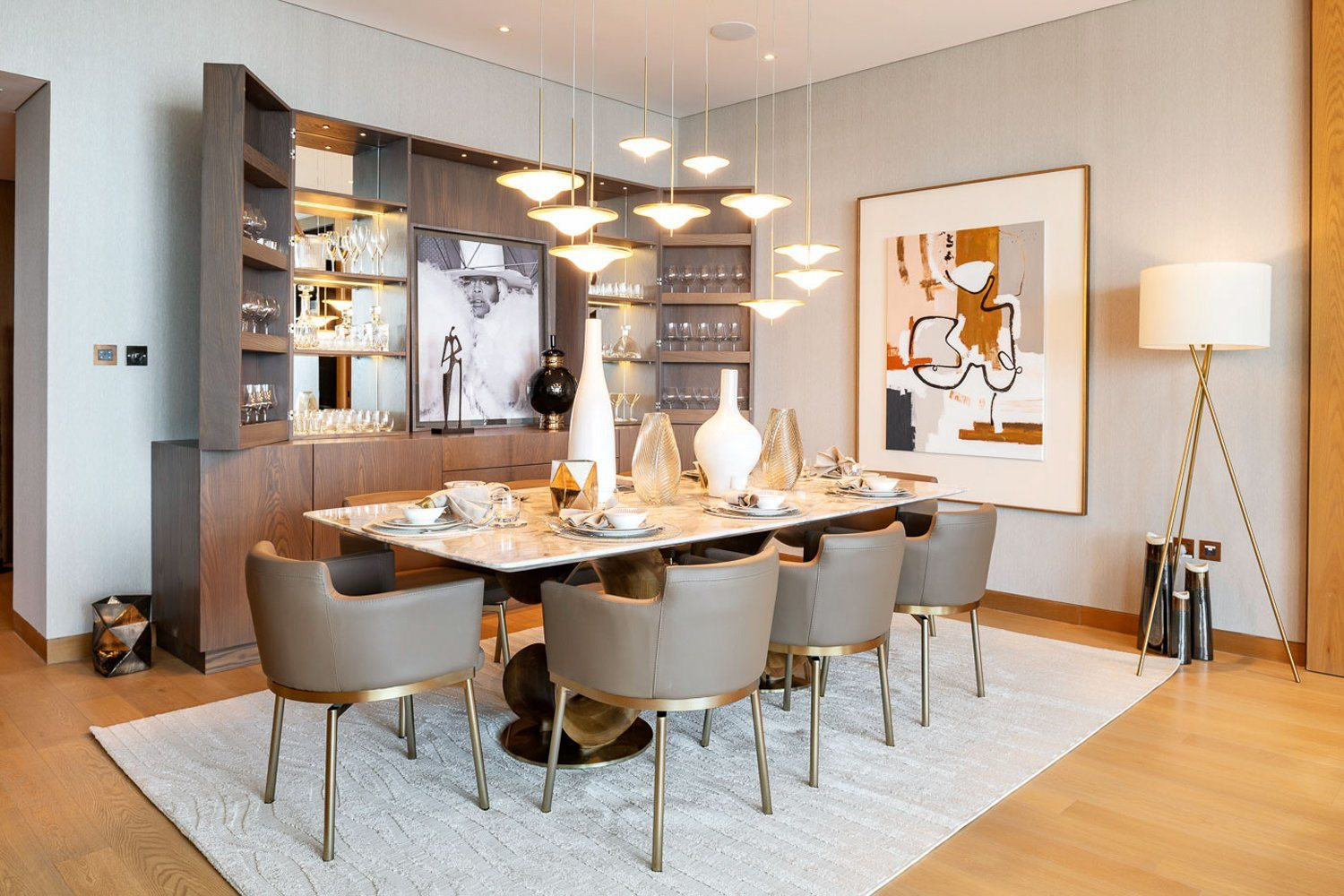 Apartment Dining Table, Upscale Dining Room Tables