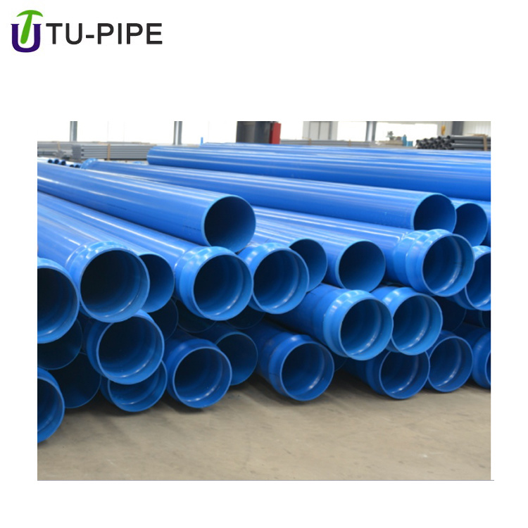 High Pressure Biaxially Oriented Polypropylene Blue Pipe Fitting for Water  Drainage