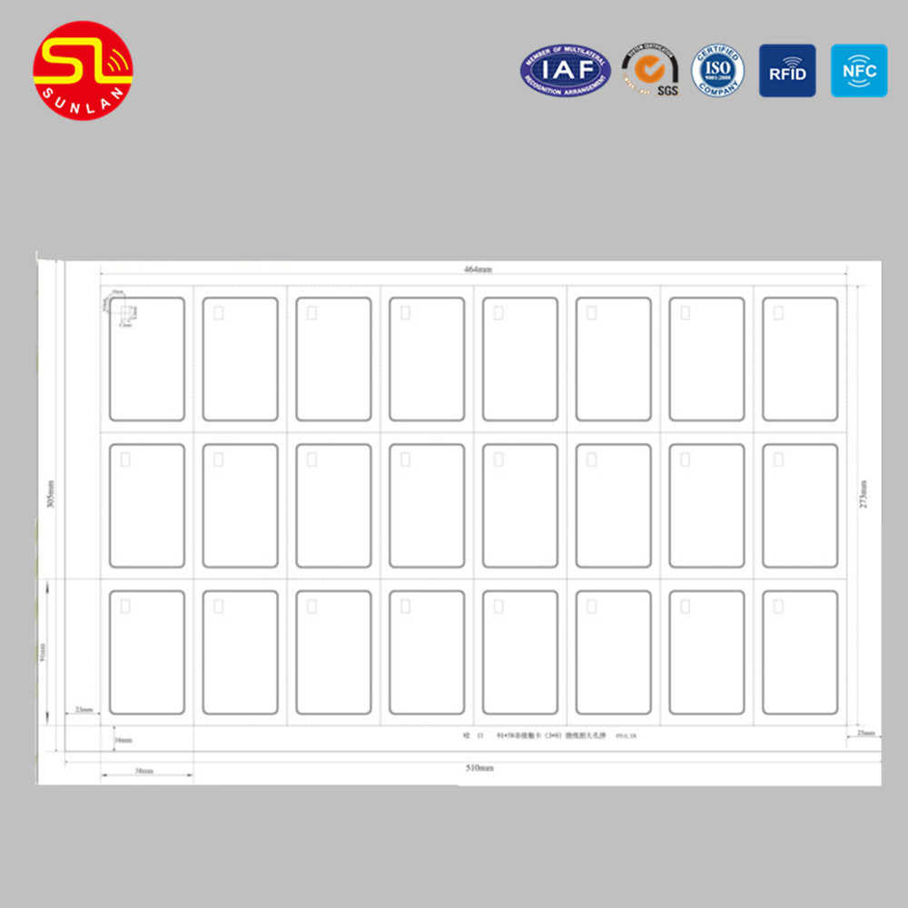A4 Size RFID Card Prelam pictures & photos