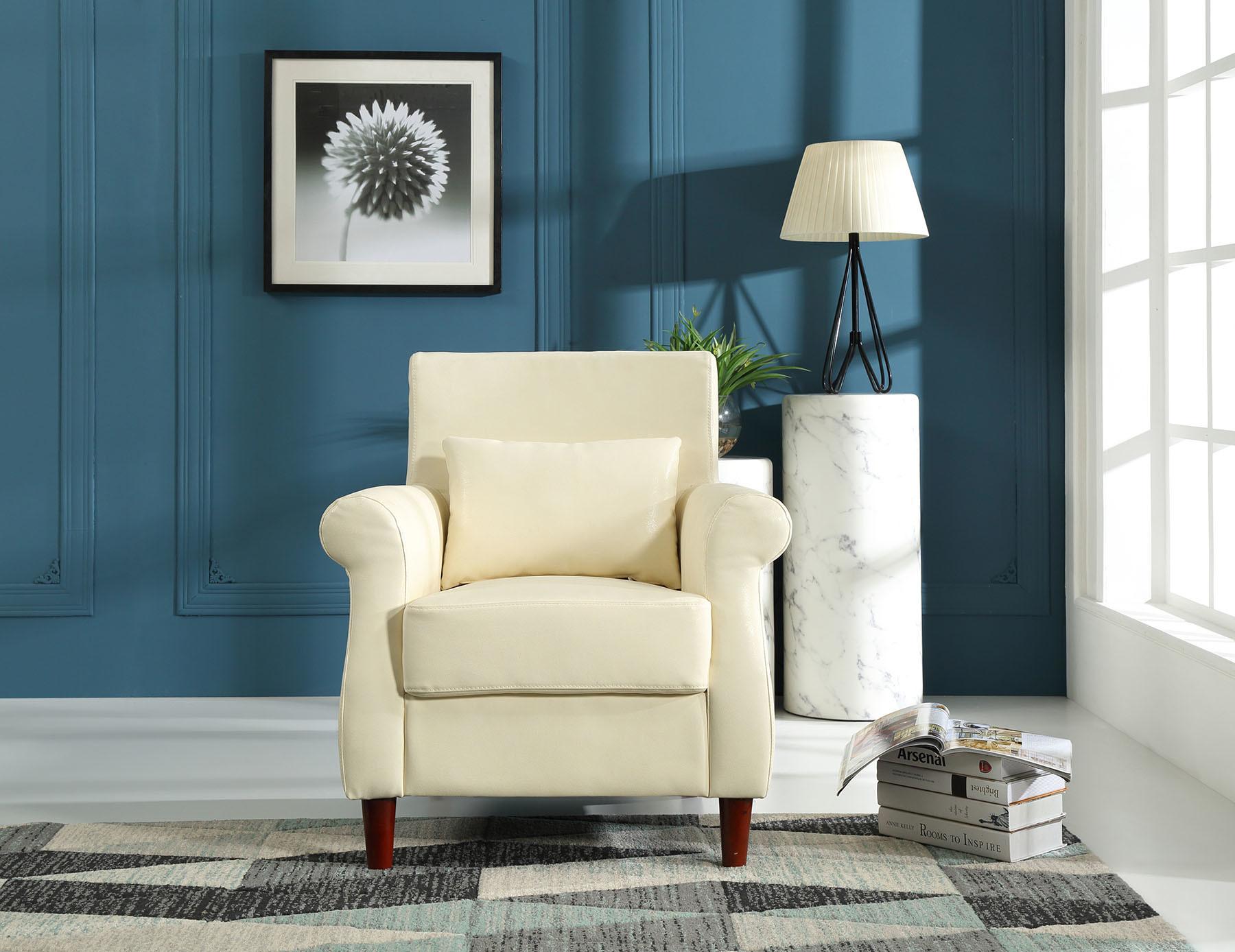 China Hotel Single Arm Chair Modern Office Sofa Furniture