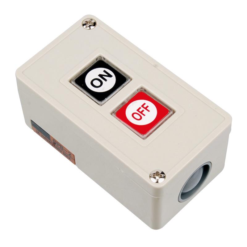 China Plastic Power Push Button Switch Box Cpb-2 - China Power Push ...