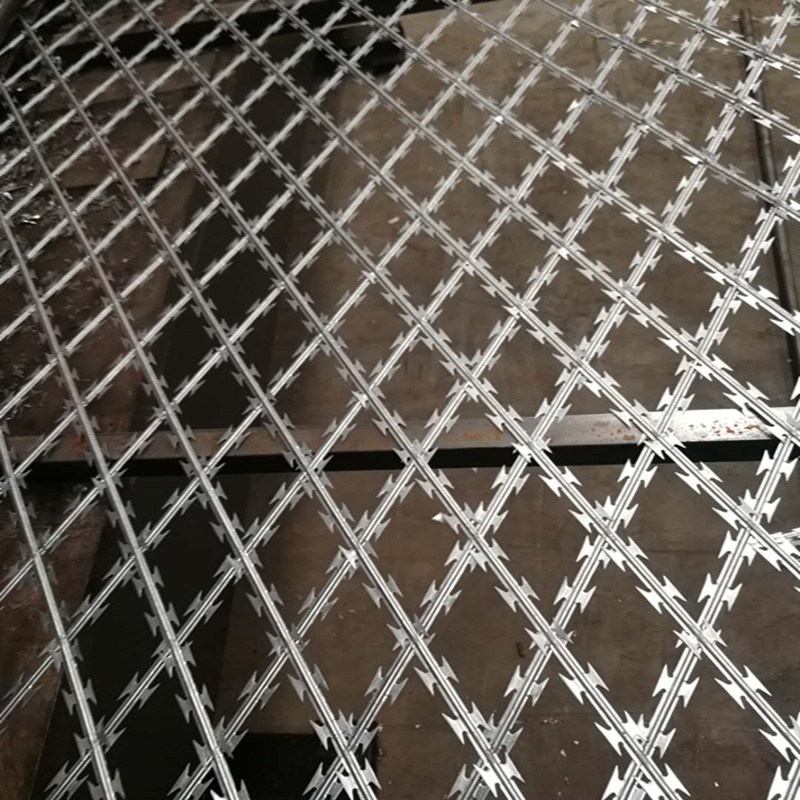 Unique Razor Wire Mesh Festooning - Electrical and Wiring Diagram ...