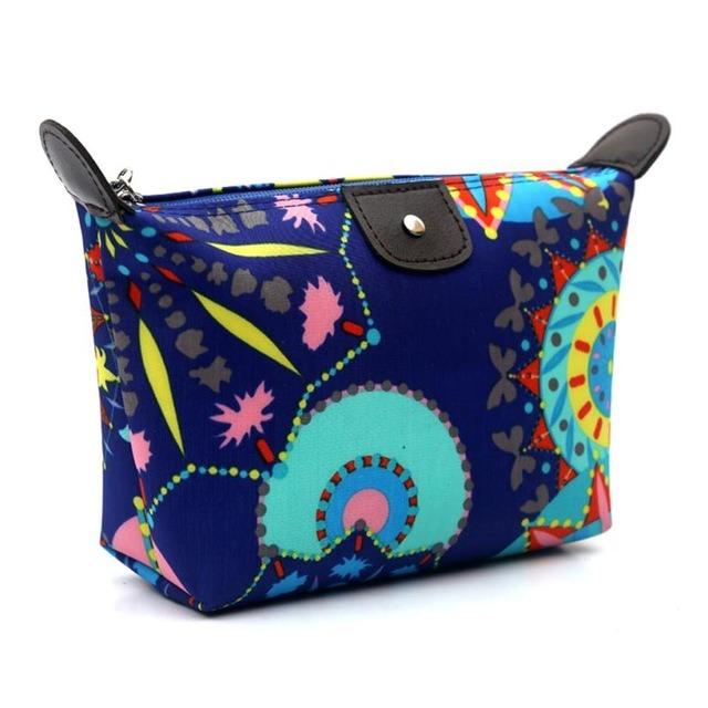 Hot Item Whole Fashion Women Travel Make Up Cosmetic Pouch Bag Clutch Handbag Casual Makeup Organizer Necessaire Box