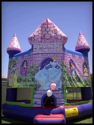 Inflatable Princess Bouncer, Inflatable Toys