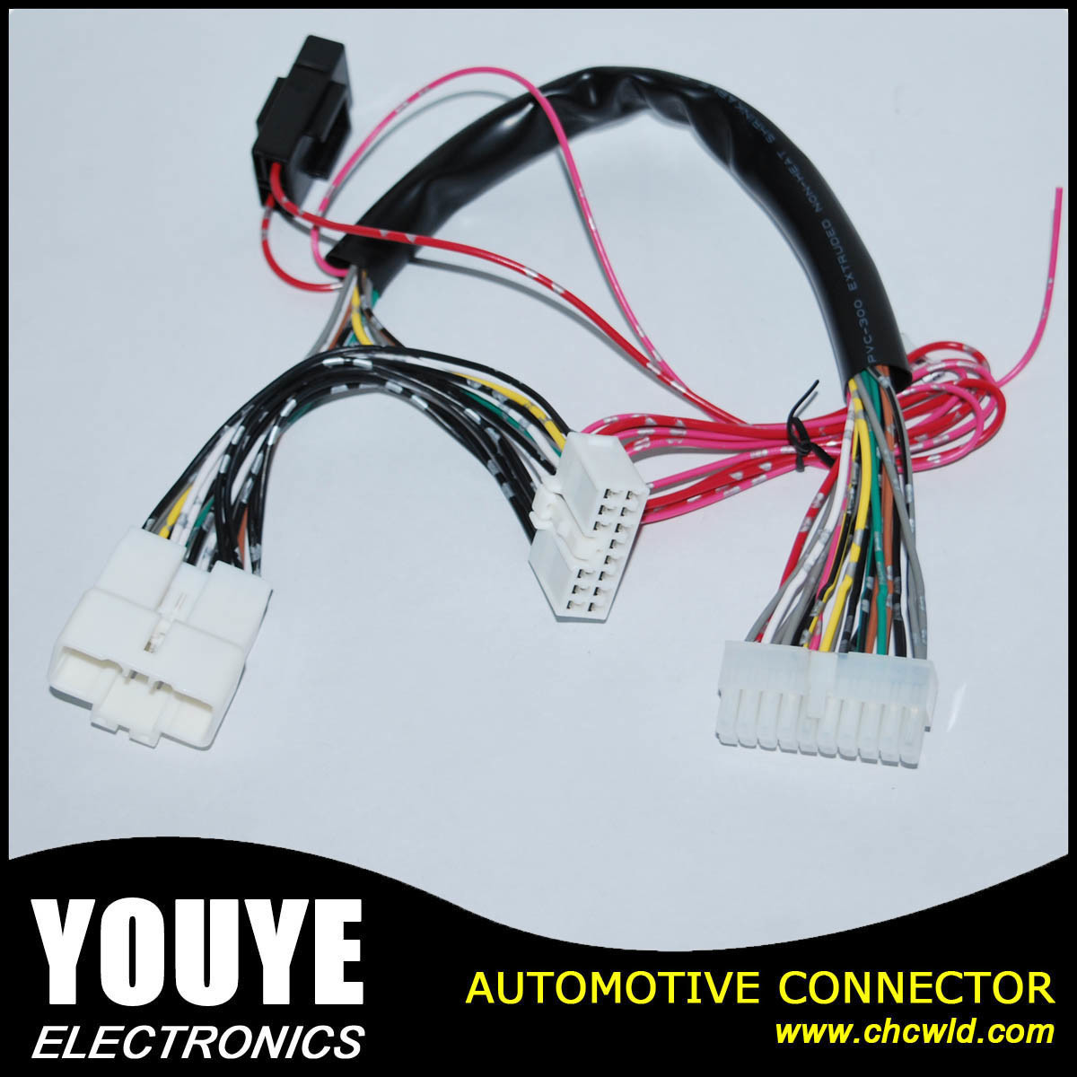 China Automotive Electric Connector Wire Harness For Nissan Electrical Wiring Connectors