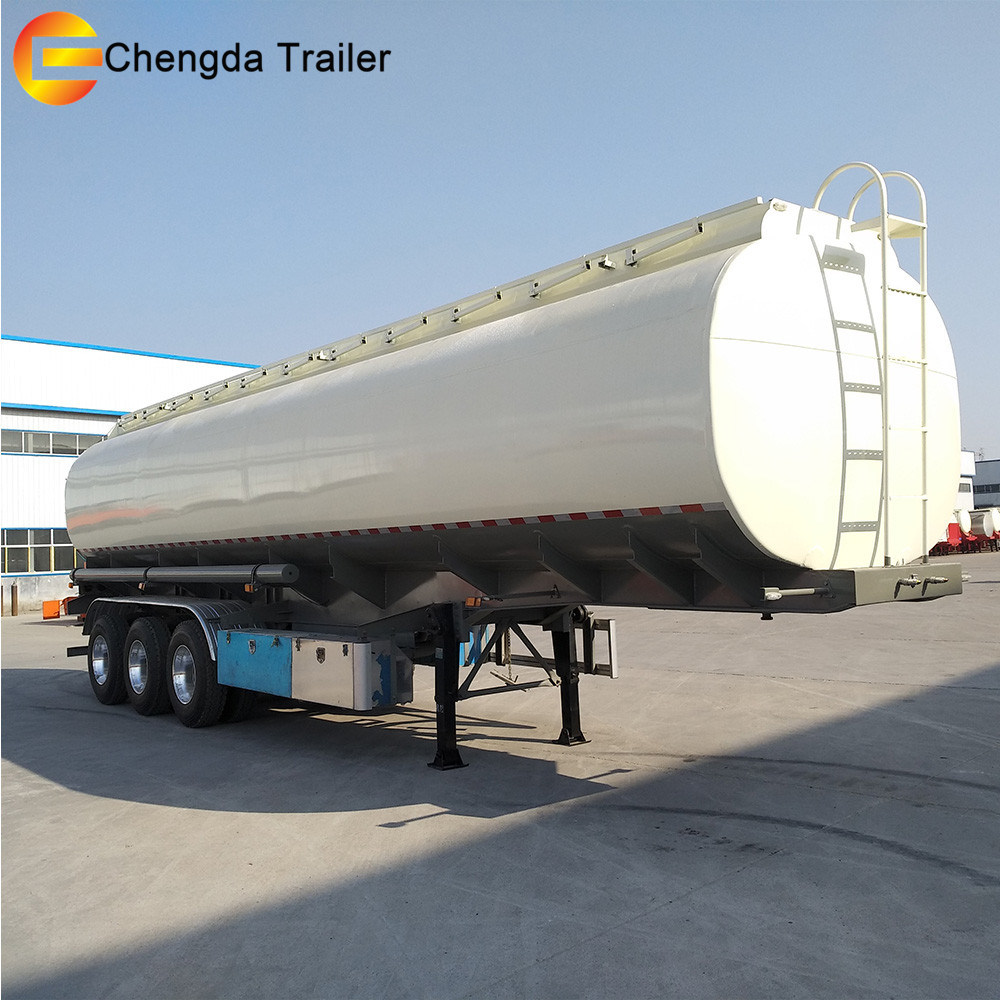China Tri Axles 40000 42000 45000 Liters Cimc Fuel Tank Trailer For Wiring Harness Han Sale Tanker Oil
