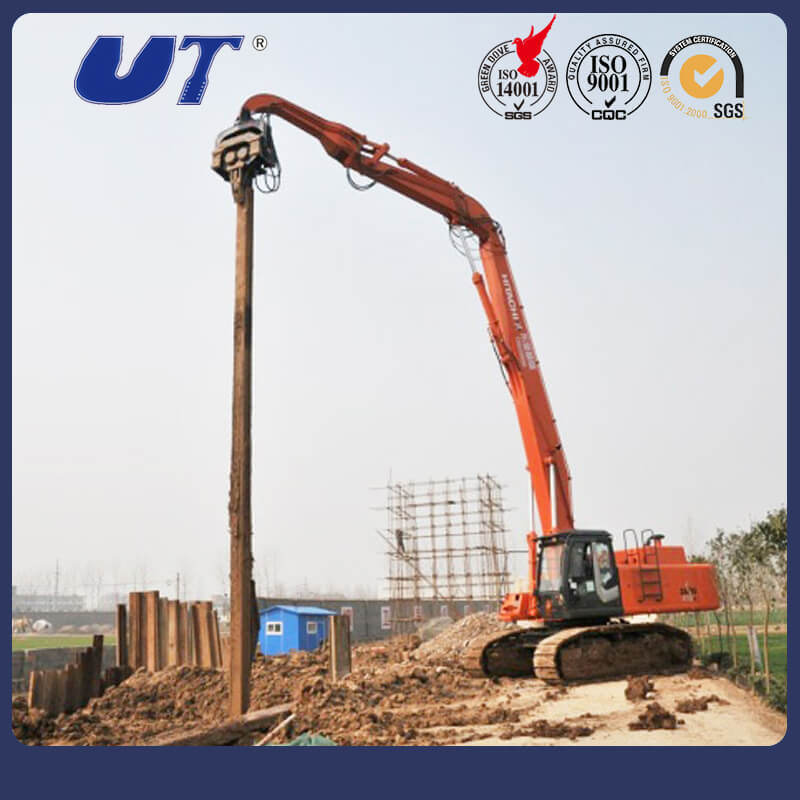 [Hot Item] 40 Tons Excavator Piling Machine Rotating Type Hydraulic Pile  Hammer