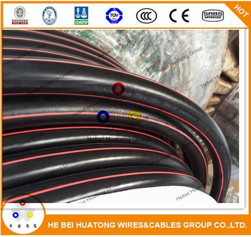 China UL Listed UL1072 15 Kv Fsal Al/Trxlpe/Sws/PVC Mv 105 Power ...