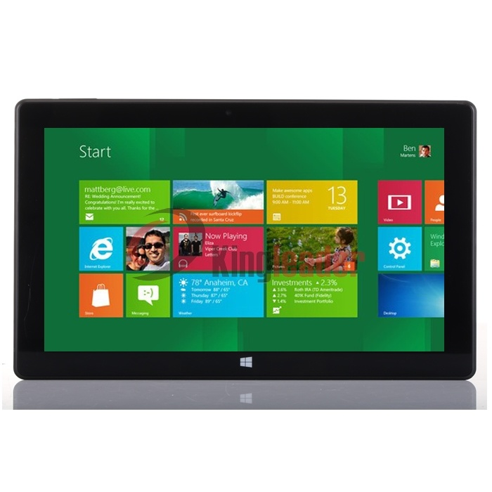 10.1inch Quad-Core Windows10 Tablet with Intel Baytrail Z3735f (Z13)