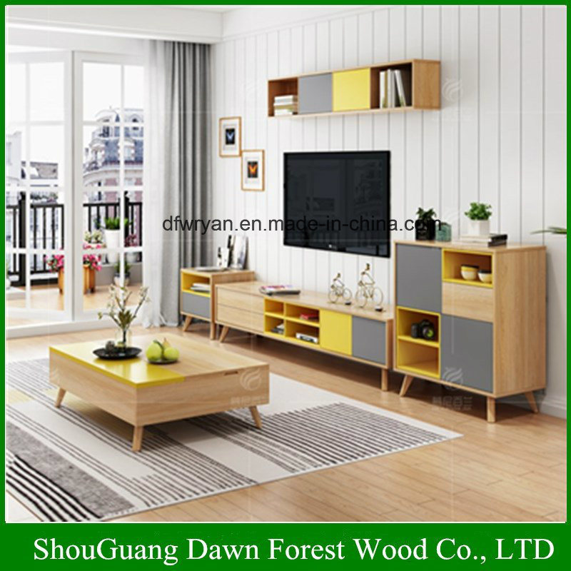 China High Quality Melamine Particle Board Mdf Living Room Furniture