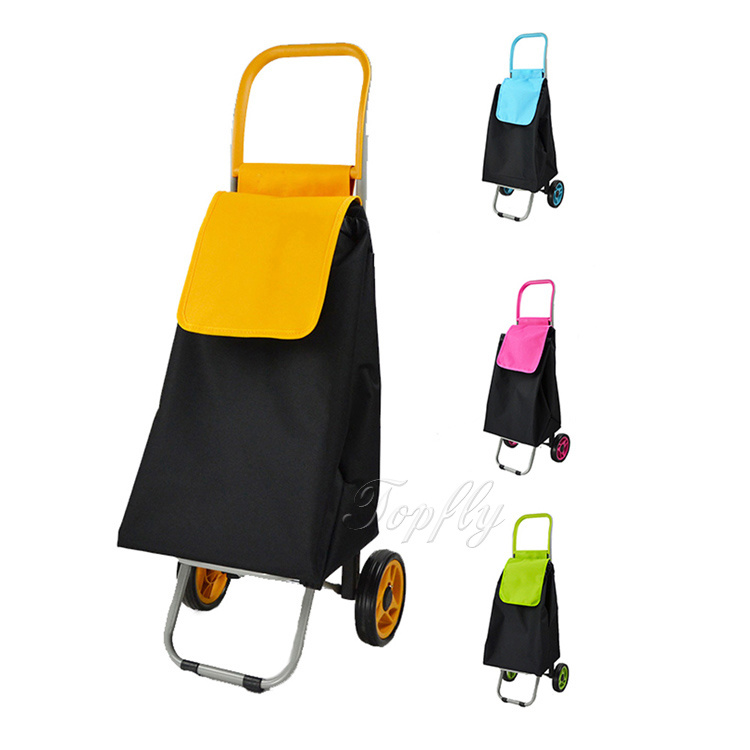 Fashionable Supermarket Shopping Trolley Bag