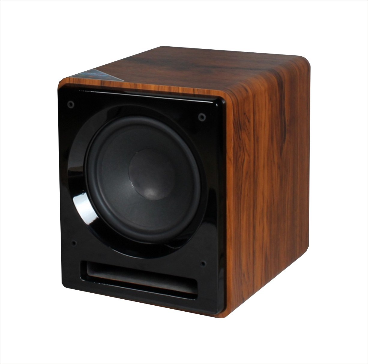 China Professional 8 Inch Subwoofer Amplifier 85w Box Design