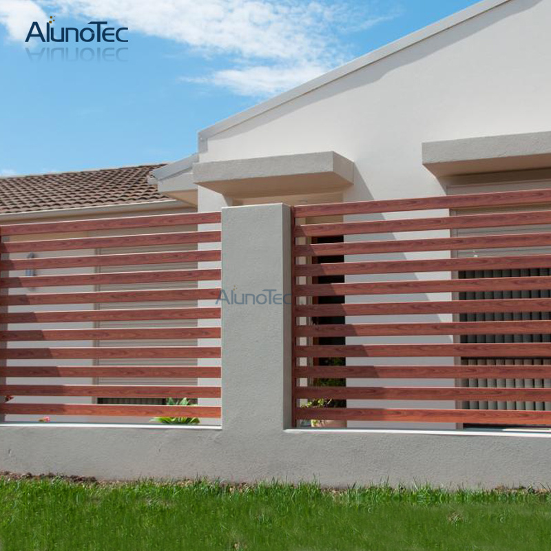 China Customized New Design Horizontal Aluminium Slat ...