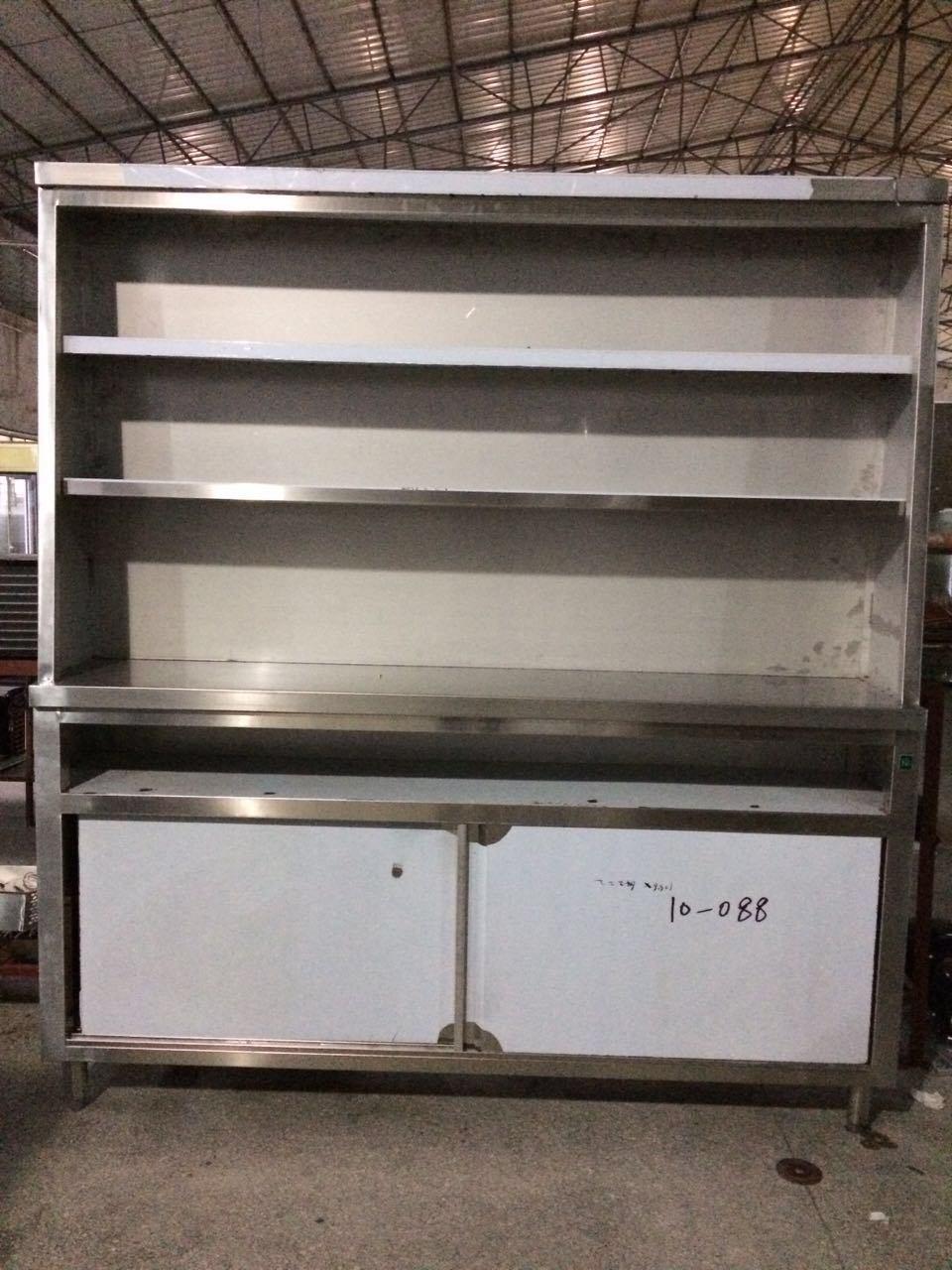 Vertical Stainless Steel Deck Food Storage Cabinet For Restaurant
