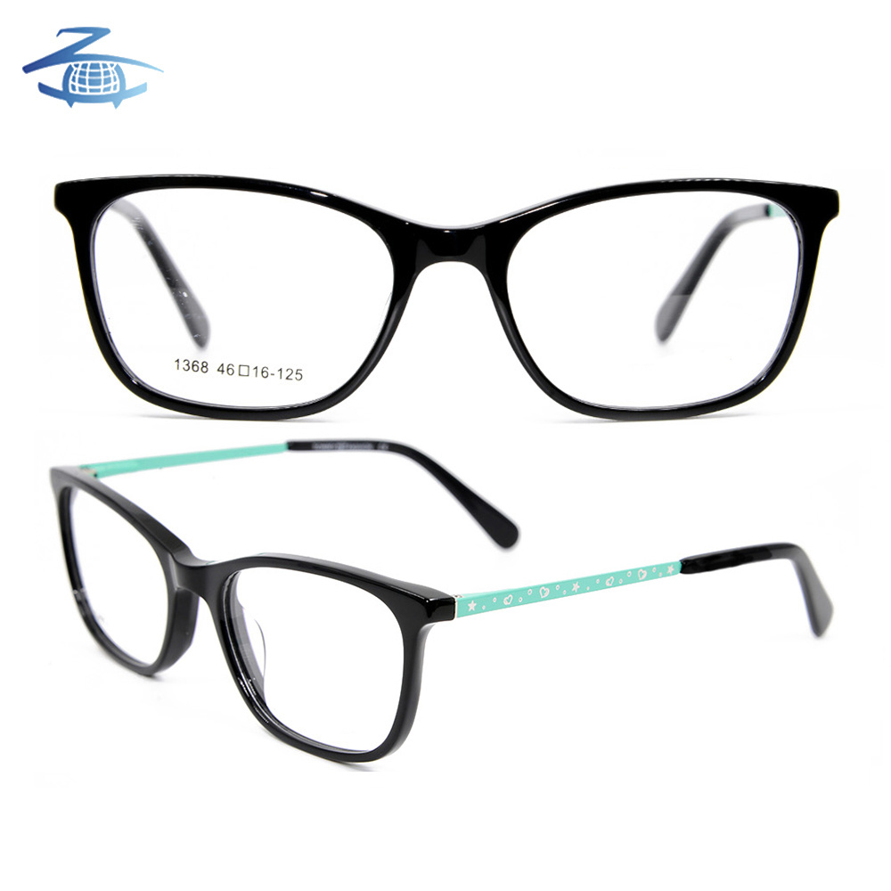 4c0559ef92e8 Wholesale Cute Acetate Eyewear Optical Glasses Frame with Little Metal -  China Eyeglass Frame, Optical Frame | Made-in-China.com