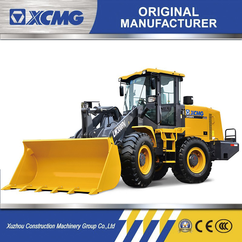 XCMG Official Lw300K Zl50g 12t Wheel Loader Front Loaders