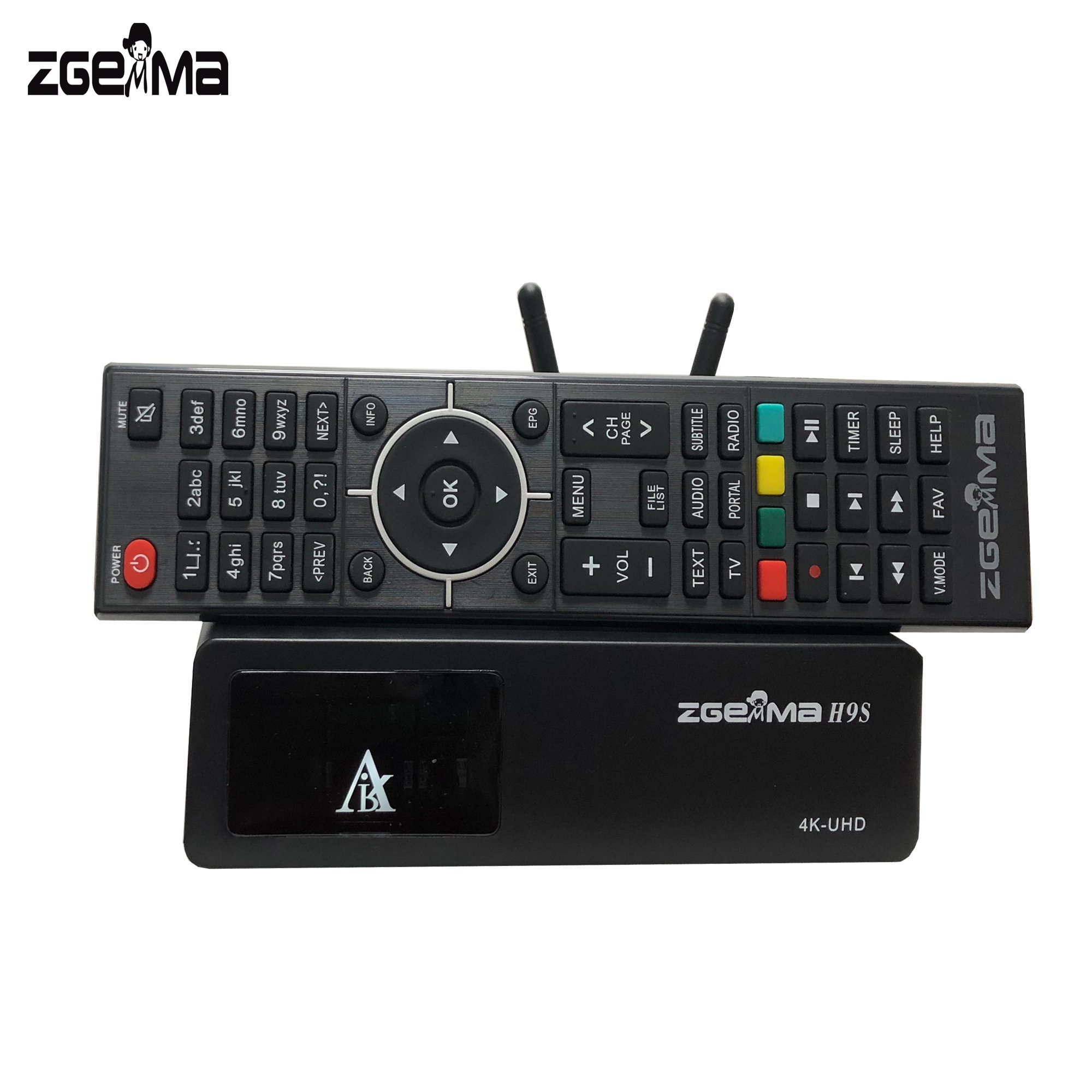 [Hot Item] Zgemma H9s with WiFi DVB-S2X 4K UHD Satellite Receiver
